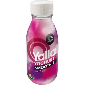 Hallon Yoghurt-smoothie 15% Frukt 350ml Yalla