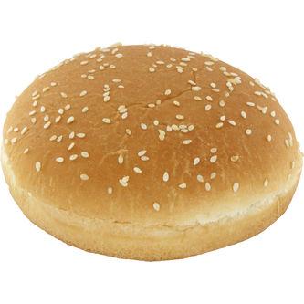 Hamburgerbröd Soft Buns med Sesam 30p/90g Korvbrödbagarn