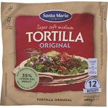 Tortilla Original Medium Santa Maria 12p/480g
