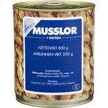 Musslor i Vatten Vemu 850 g