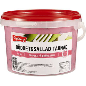 Rödbetssallad Tärnad 2.5kg Rydbergs