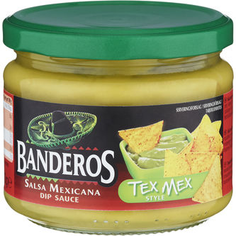 Tex Mex Dip 300g Banderos