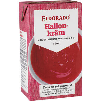 Hallonkräm 1l Eldorado