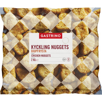 Chicken Nuggets 2kg Gastrino