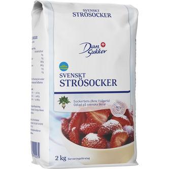 Strösocker 2kg Dansukker