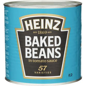 Bönor Vita 2.62kg Heinz