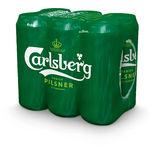 Carlsberg 3.5% Pilsner Öl 6-pack Carlsberg 6p/50cl