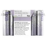 Batterier Aa Fixa 24p