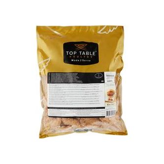 Kycklingfilé Panerad Fryst 2,5kg Top Table