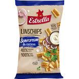 Linschips Sourcream & Onion Estrella 110g