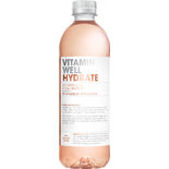 Hydrate Rabarber/jordgubb Stilla Vatten Pet Vitamin Well 50cl