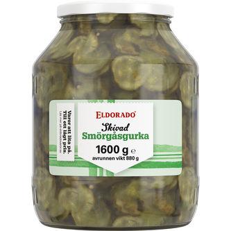 Smörgåsgurka 1.6/880g Eldorado