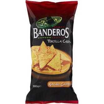 Tortilla Chips Cheese 500g Banderos