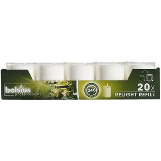 Ljus Relight Tran 20p Bolsius