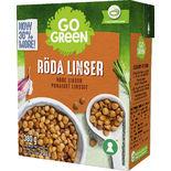 Röda Linser Gogreen 380/230g