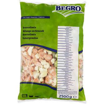 Broccolimix Fryst 2.5kg Begro