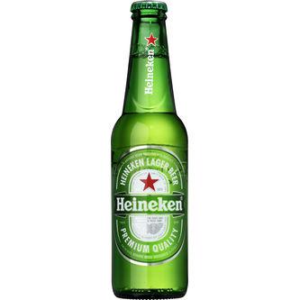 Heineken 5% Starköl Glas 33cl Spendrups