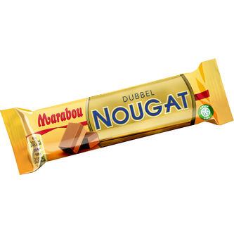 Dubbel Nougat 43g Marabou