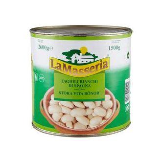 Bönor Stora Vita 1.5kg La Masseria