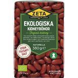 Kidneybönor Ekologiska Zeta 380/230g