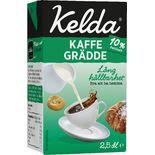Kaffegrädde 10% Kelda 250ml