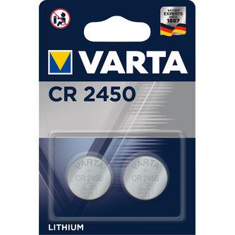 Batteri Cr2450 2p Varta
