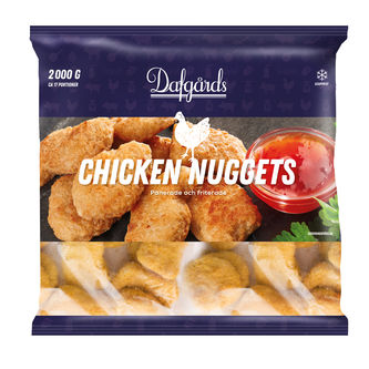 Chicken Nuggets Frysta 2kg Dafgårds