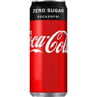 Coca-cola Zero Burk 33cl Coca-cola Zero