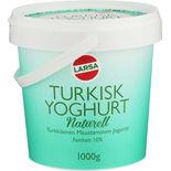 Yoghurt Turkisk Naturell Larsa Foods 1000g