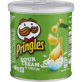 Chips Sourcream & Onion 40g Pringles