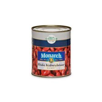 Kidneybönor Röda 800/480g Monarch