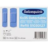Detectable Blå Plåster Salvequick 35st