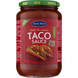 Taco Sauce Mild Santa Maria 800g