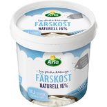 Färskost Naturell 16% Arla 1,5kg