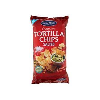 Tortilla Chips Salted Big Pack 475g Santa Maria