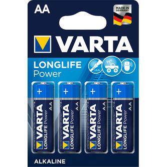 Longlife Power Aa Batteri 4p Varta