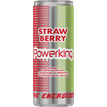 Strawberry Energidryck Powerking 25cl