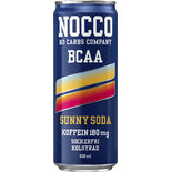 Sunny Soda Bcaa Energidryck Burk Nocco 33cl