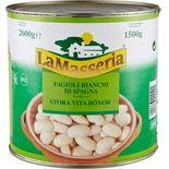 Bönor Stora Vita La Masseria 1.5kg