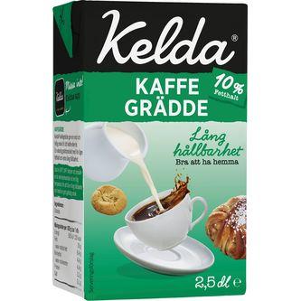 Kaffegrädde 10% 250ml Kelda