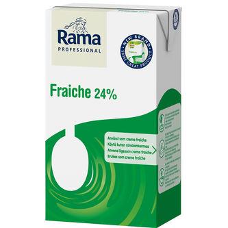 Fraiche 24% 1l Rama