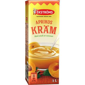Aprikoskräm 1l Ekströms