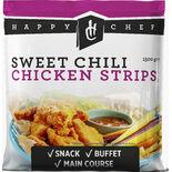 Chicken Sweet Chili Fryst Happy Chef 1.5kg