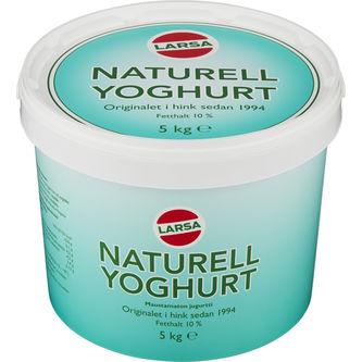 Naturell Yoghurt 5kg Larsa Foods