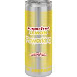 Energy Drink Lemon Sockerfri Burk Powerking 35.5cl