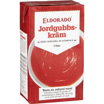 Jordgubbskräm 1l Eldorado