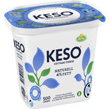 Keso Naturell 4% Keso 500g