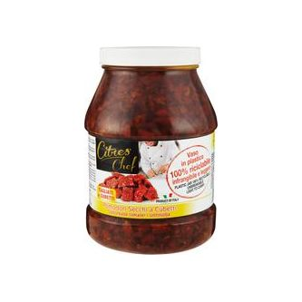 Soltorkade Tomater Kub 2,3kg Citres Spa