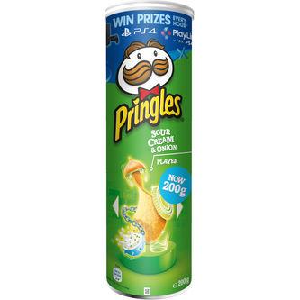 Sourcream & Onion Chips 200g Pringles