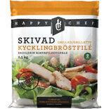 Kycklingbröst Grillat Skivat Fryst Happy Chef 2.5kg